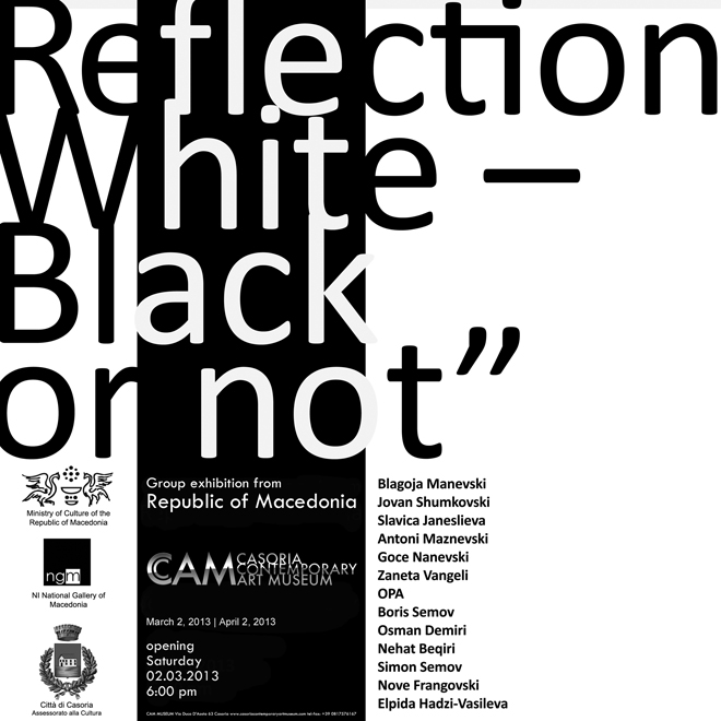 Reflection. White – Black or not